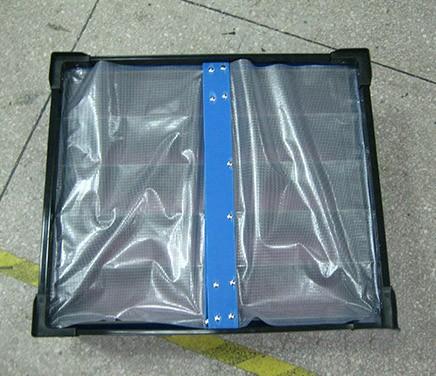 带防尘帘中空板箱