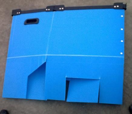 带边条护角折叠箱