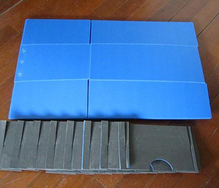 中空板折叠箱(内隔板)